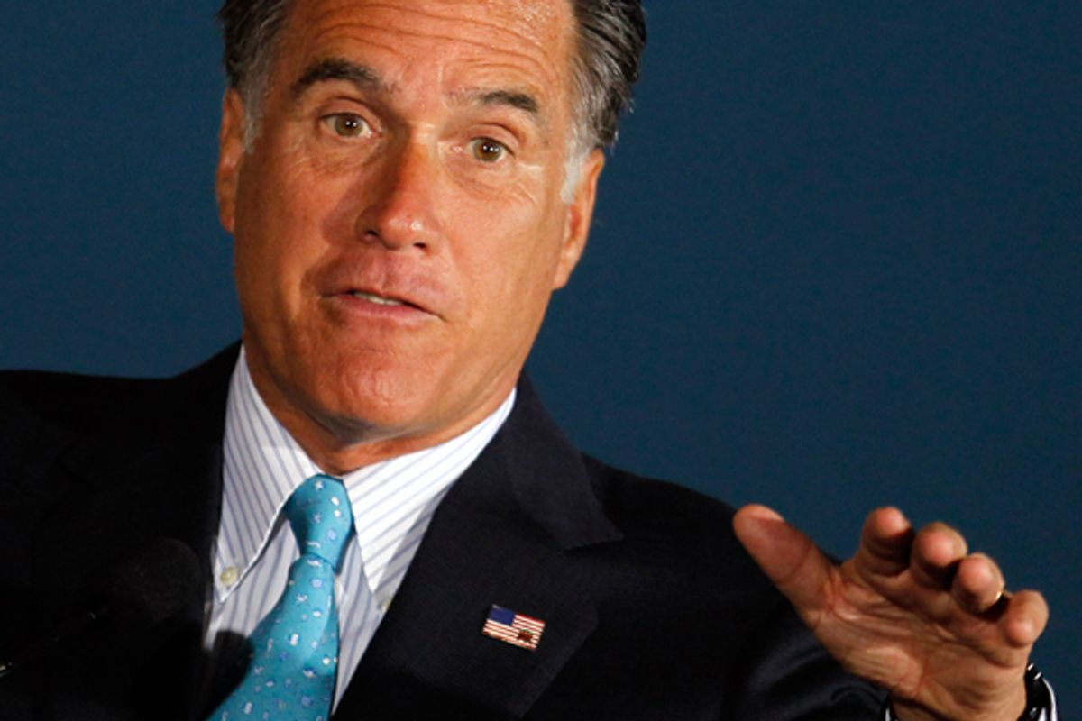 Mitt Romney    (Reuters/Tim Shaffer)