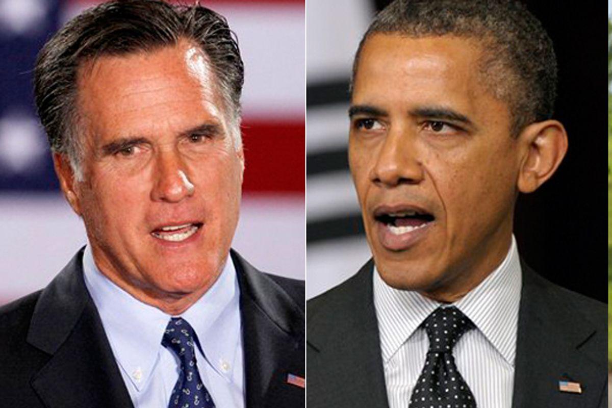 Mitt Romney and Barack Obama     (AP)