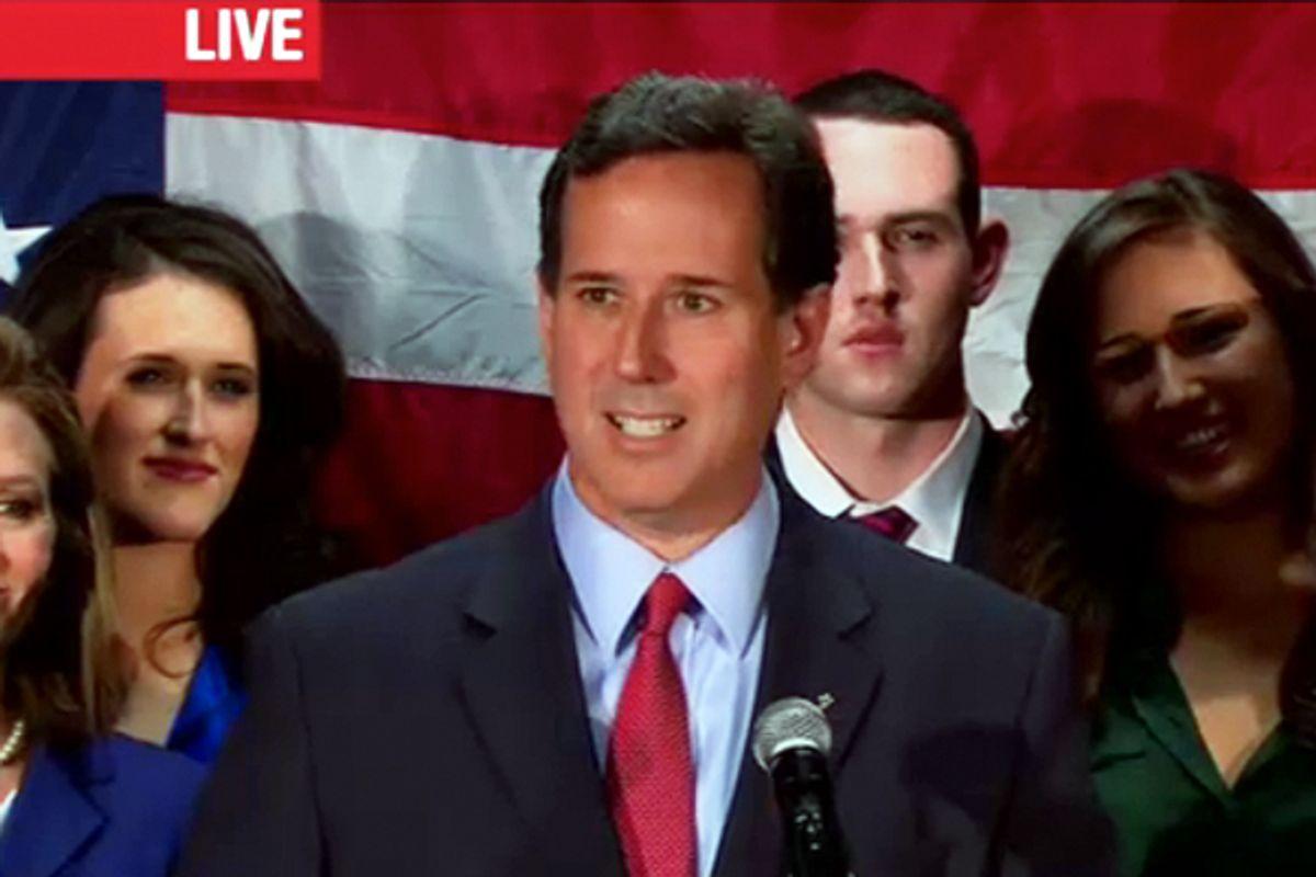 Rick Santorum    (CNN)