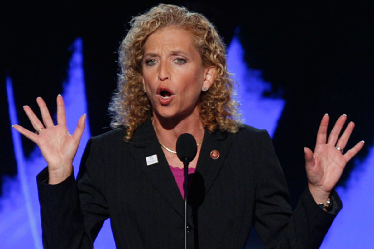 Debbie Wasserman Schultz        (Reuters/Mike Segar)
