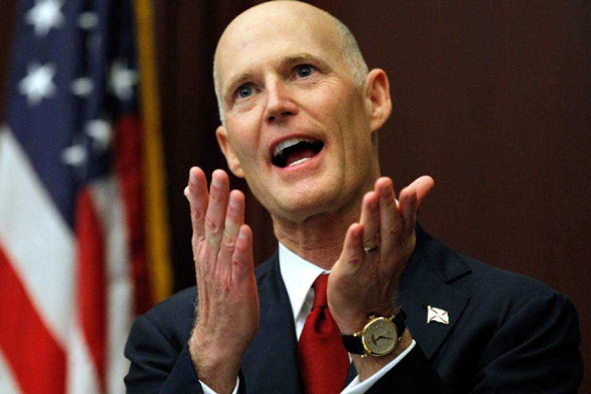 Florida Gov. Rick Scott    (AP/Chris O'Meara)