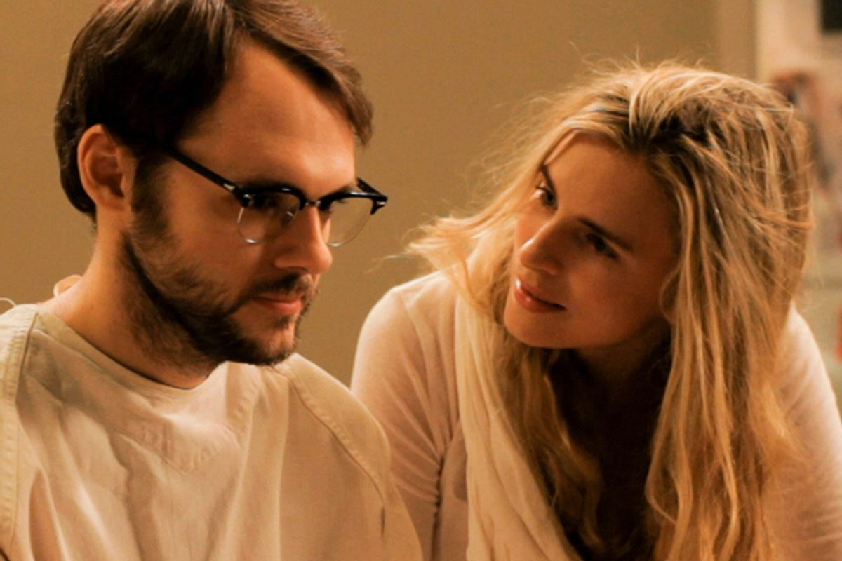 """Christopher Denham and Brit Marling in """"Sound of My Voice"""""""