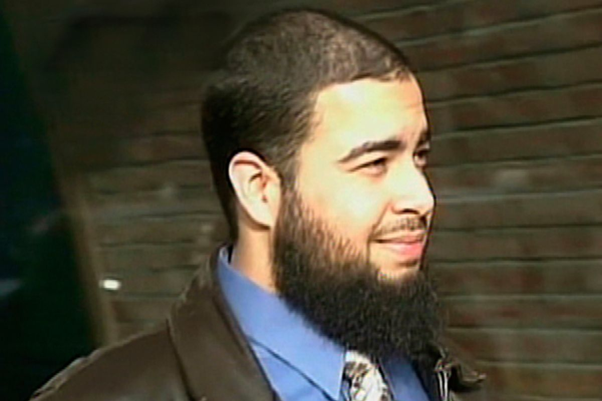 Tarek Mehanna is seen in this image from video footage taken in Boston in 2009.                       (Reuters/WHDH-TV)