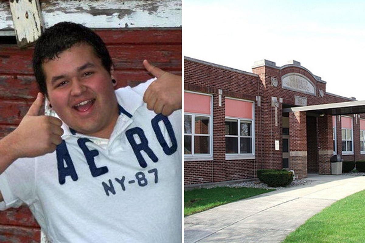 Austin Carroll and Garrett High School        (AP)