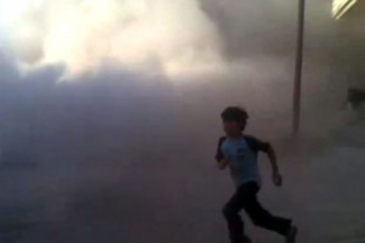 This frame grab made from an amateur video provided by Syrian activists on Monday, May 28, 2012, purports to show the massacre in Houla on May 25 that killed more than 100 people, many of them children. (AP/Amateur Video via AP video)          ((AP/Amateur Video via AP video))