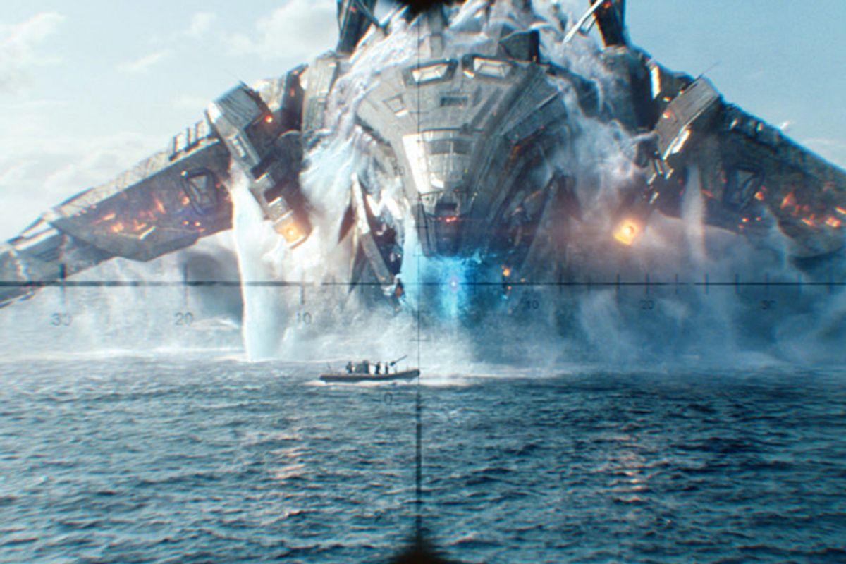 """A still from """"Battleship"""""""