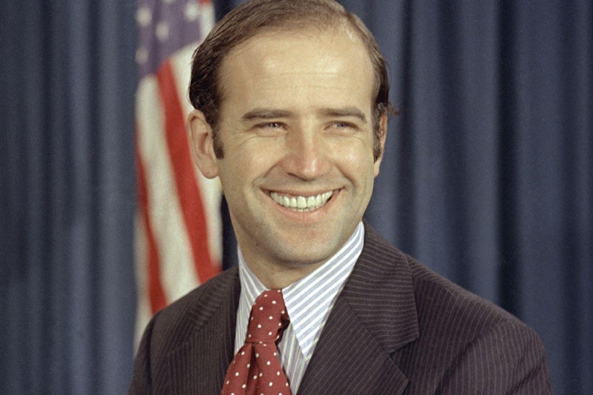 Joe Biden in 1972    (AP)