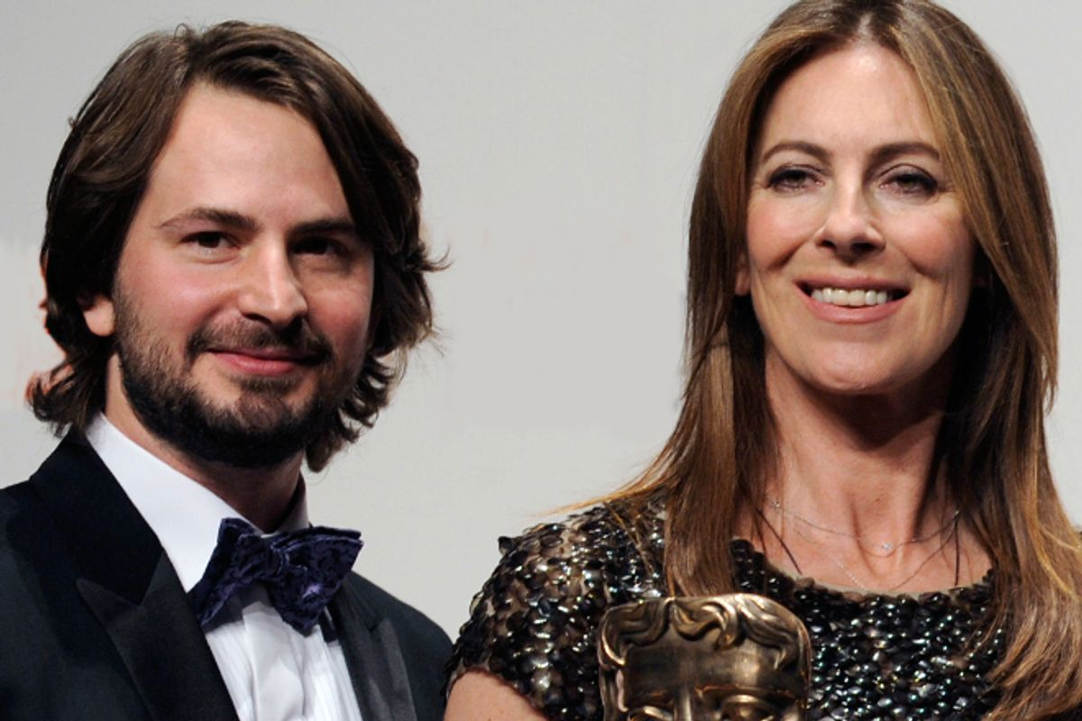 Mark Boal and Kathryn Bigelow         (Reuters/Toby Melville)