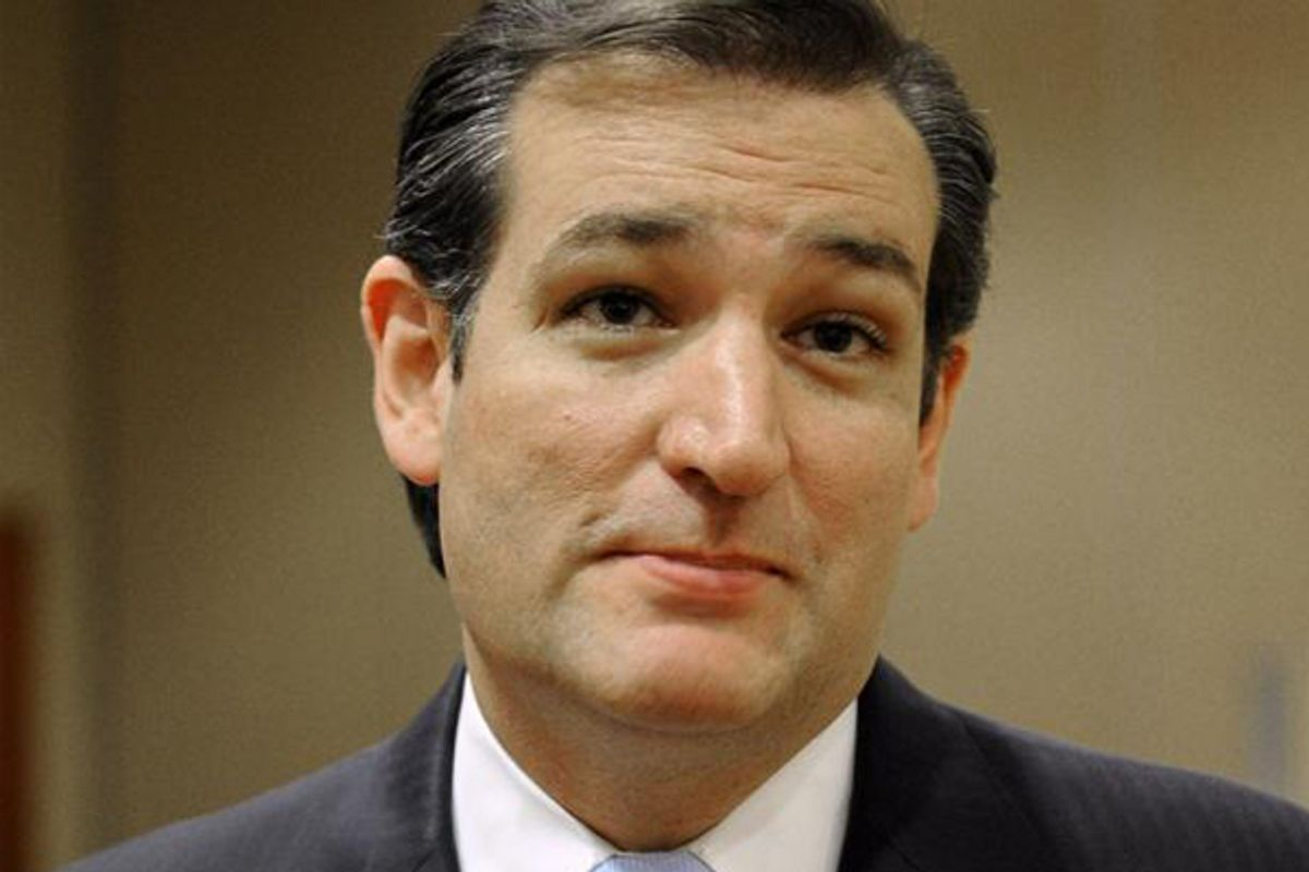 Senator Ted Cruz (R-TX)        (AP/Pat Sullivan)