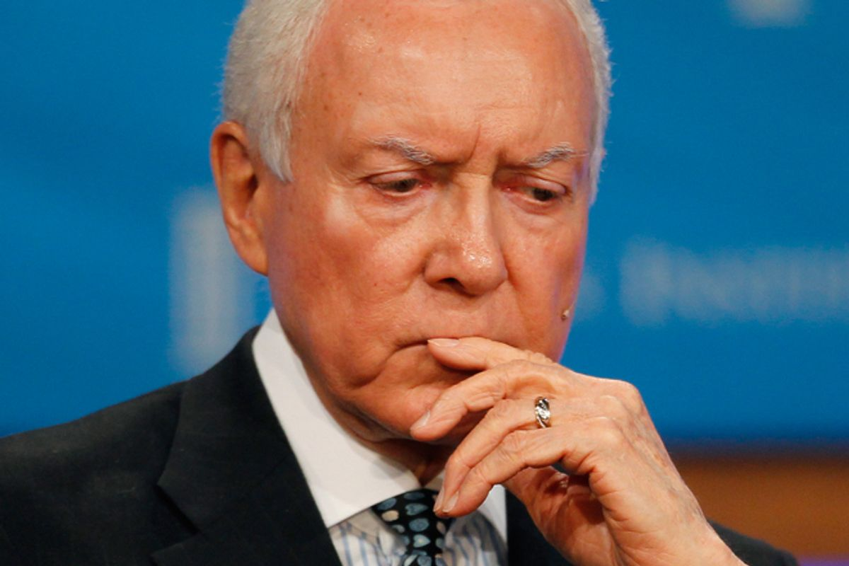 Orrin Hatch      (Reuters/Fred Prouser)