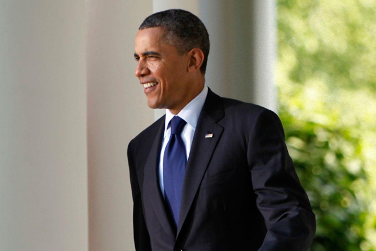 President Obama       (Reuters/Yuri Gripas)