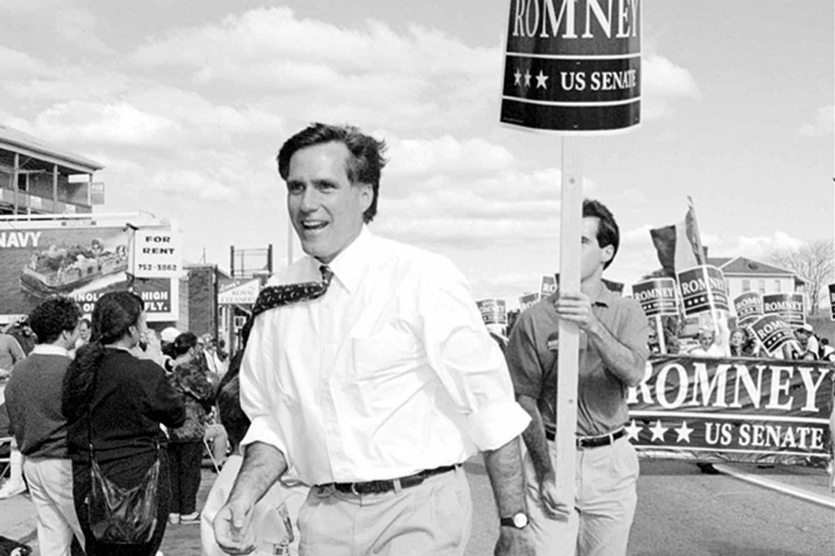 Mitt Romney in 1994       (AP/C.J. Gunther)