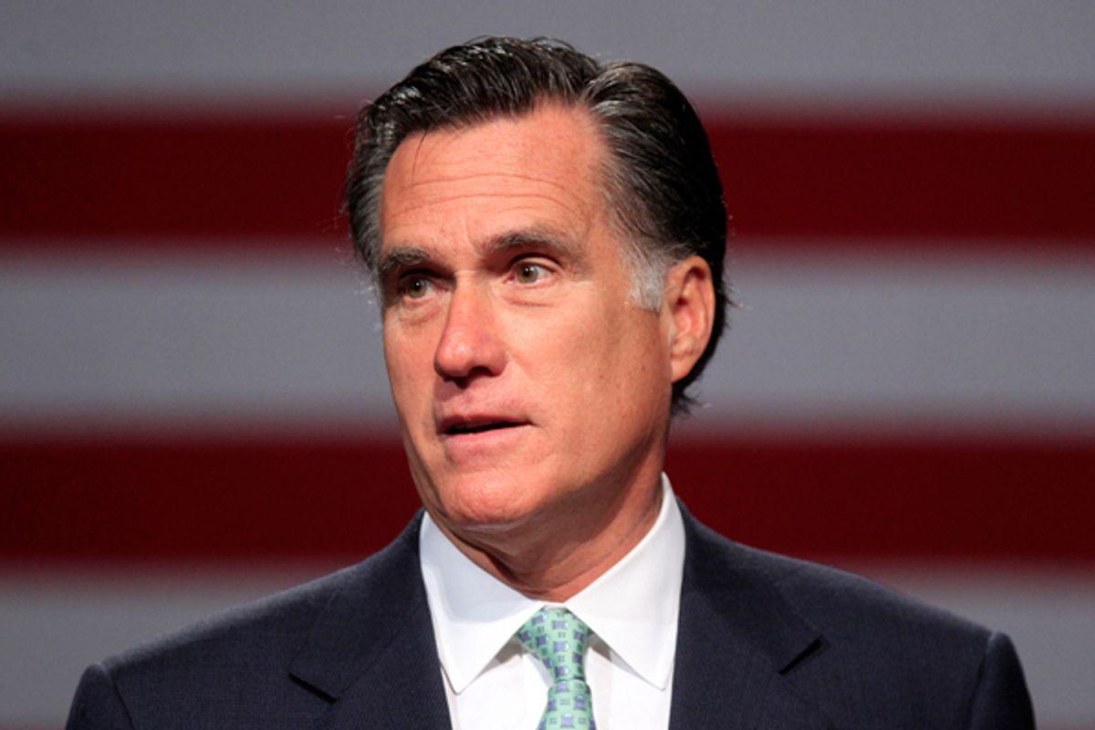 Mitt Romney   (AP/Carlos Osorio)