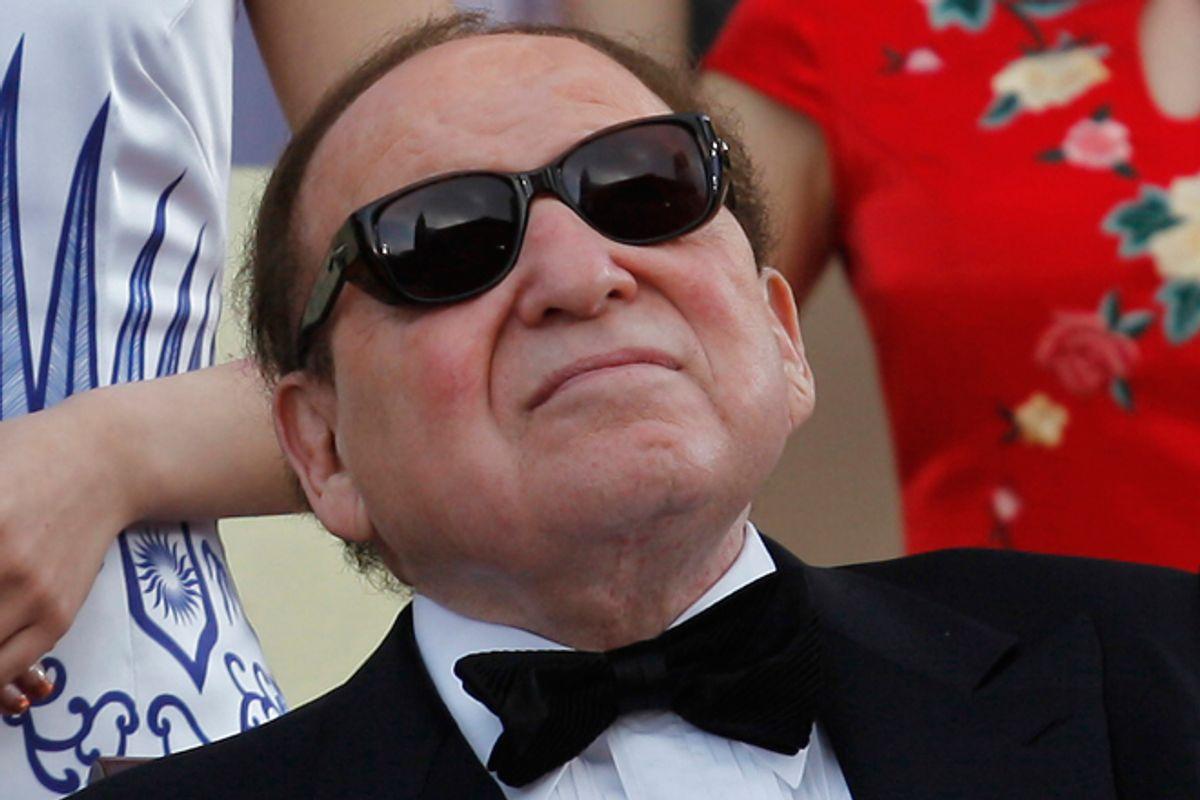 Sheldon Adelson      (Reuters/Siu Chiu)