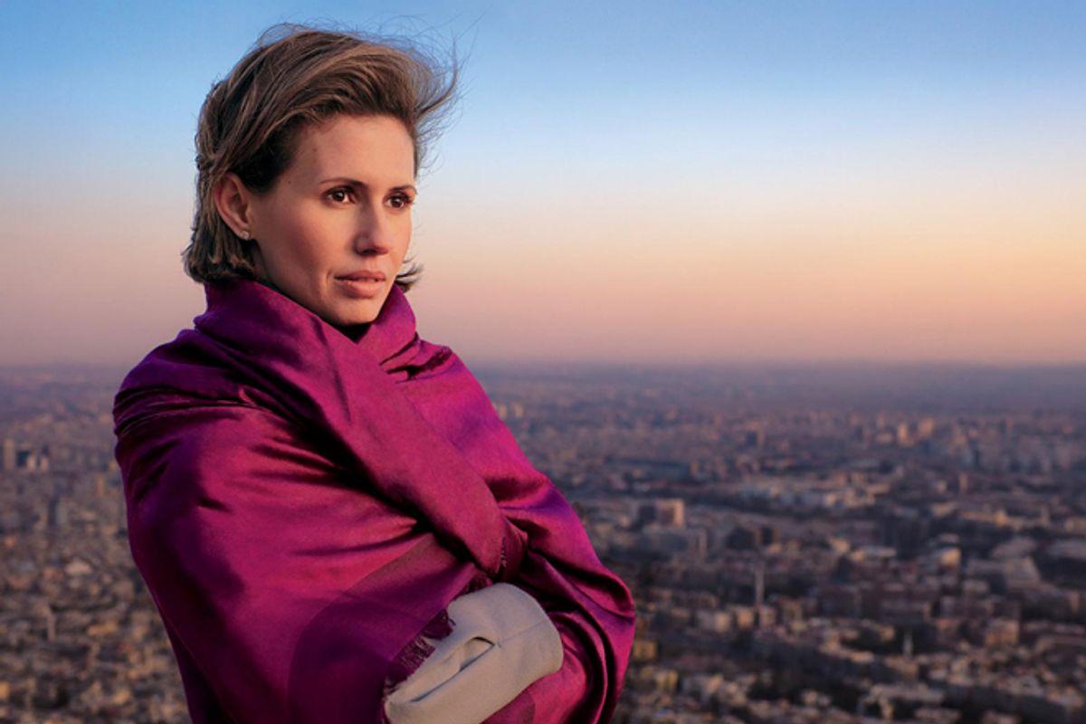 "Asma al-Assad in ""Vogue"""