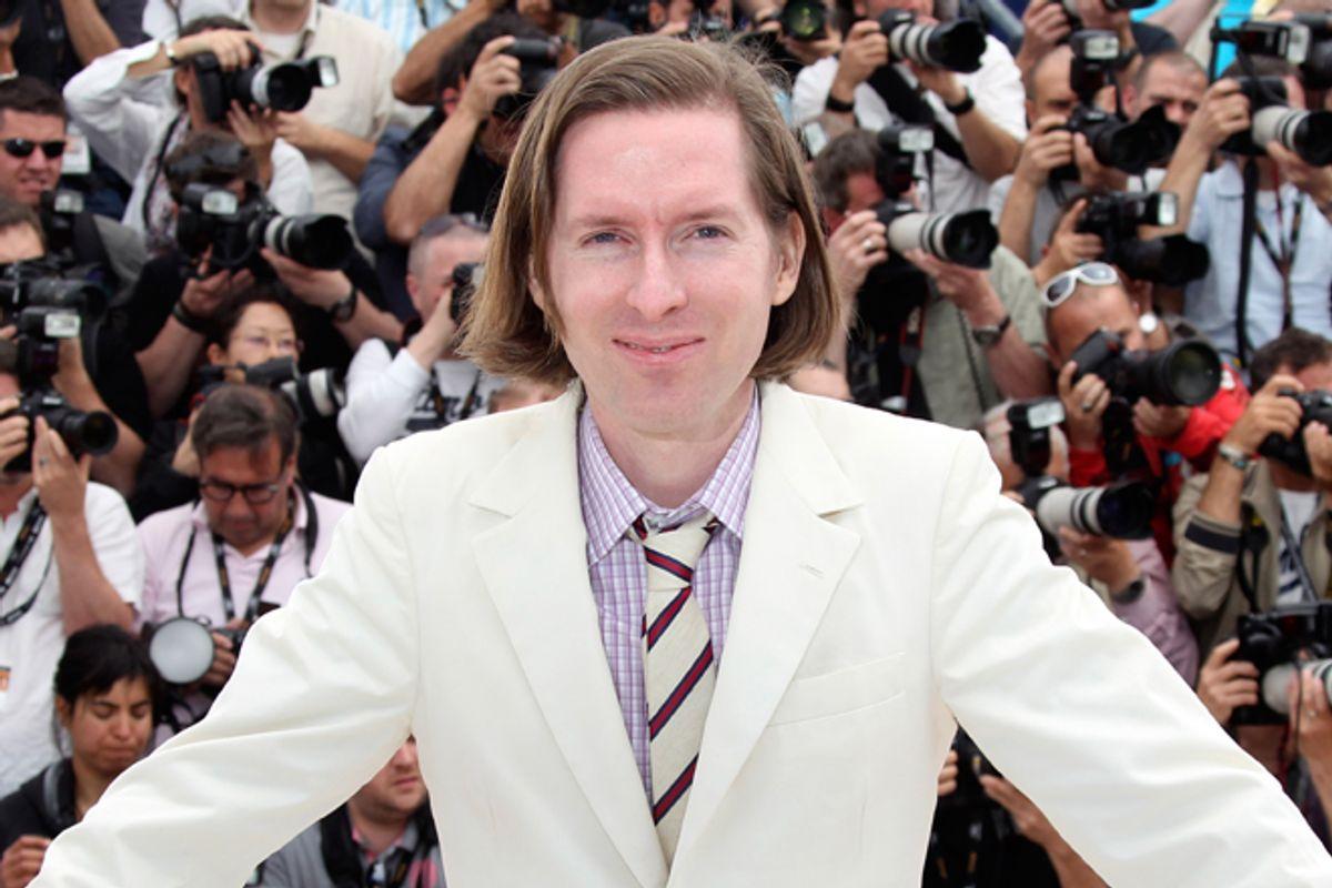 Wes Anderson in Cannes on May 16.   (AP/Joel Ryan)