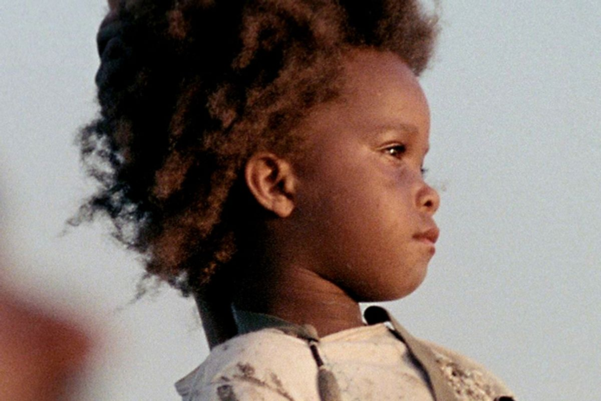 """Quvenzhané Wallis in """"Beasts of the Southern Wild"""""""