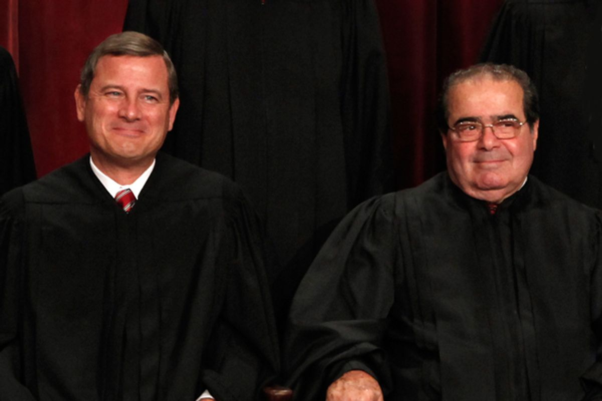 John Roberts and Samuel Alito     (Reuters/Jim Young)