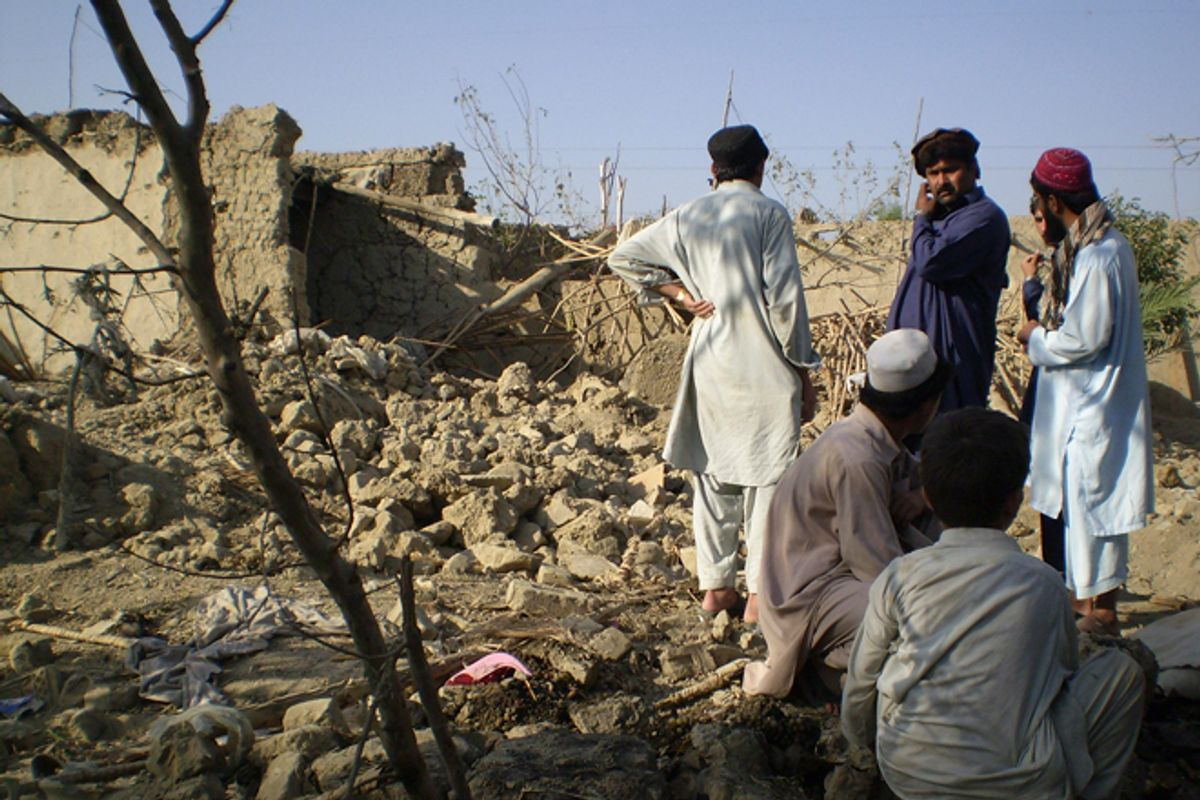 The damage from drone strikes in Pakistan is not just physical                (Reuters/Haji Mujtaba)