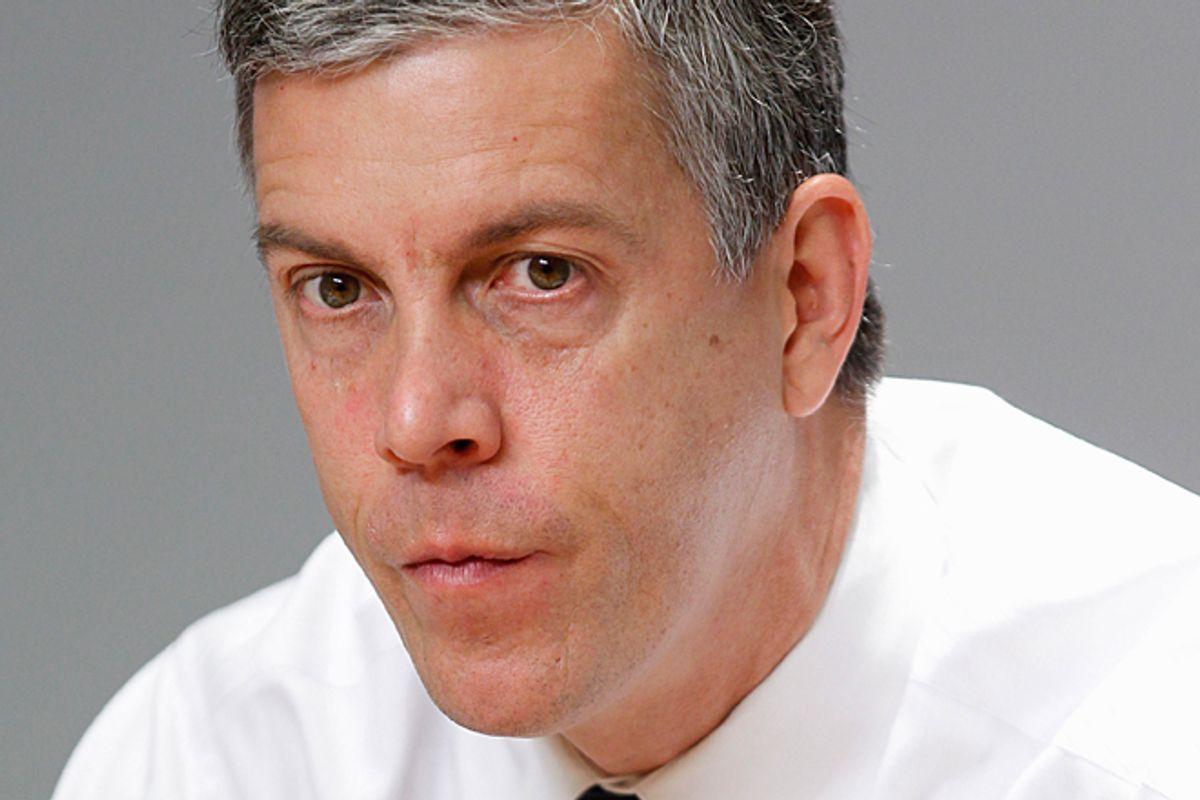 Arne Duncan    (AP/Pablo Martinez Montsivais)