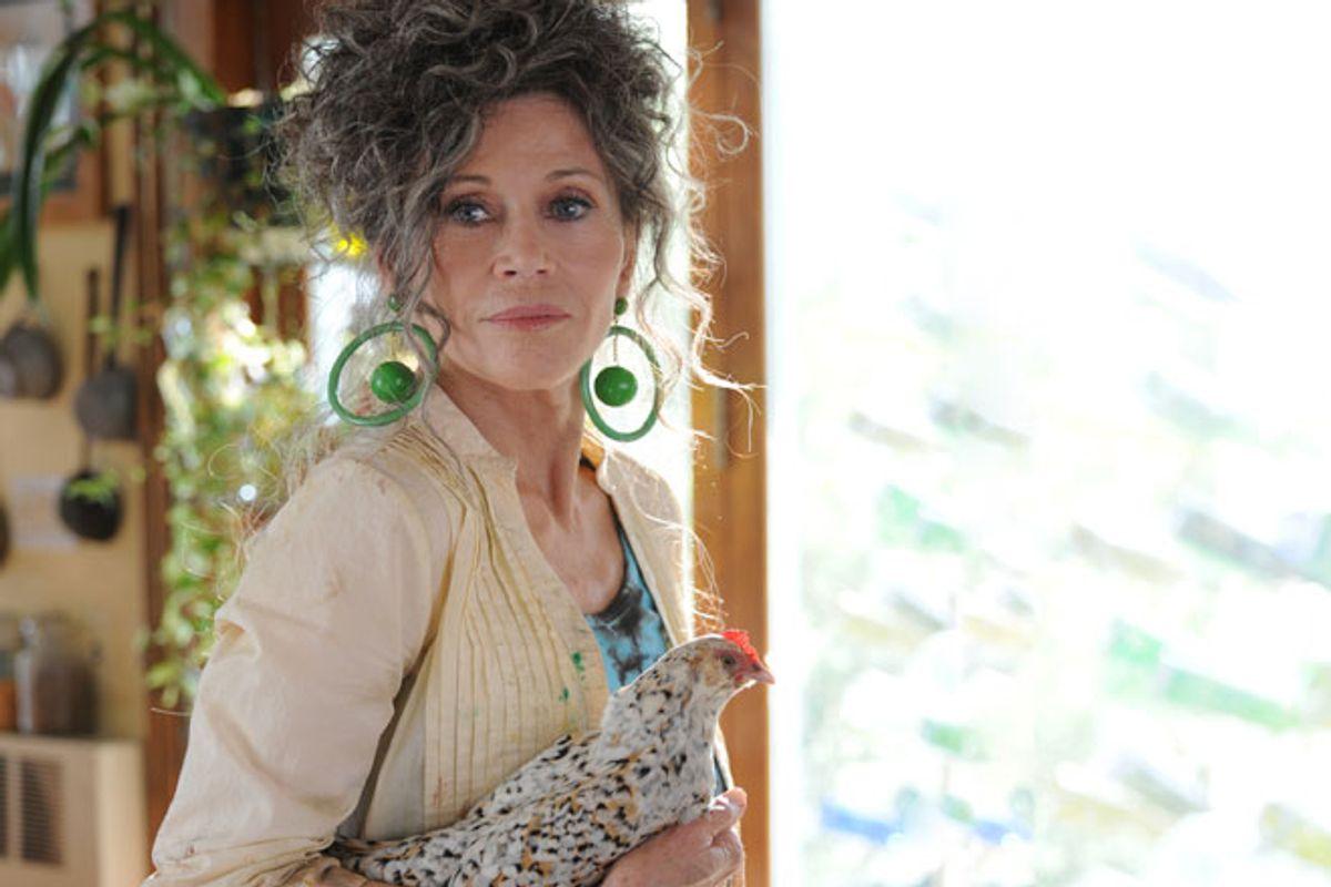 "Jane Fonda in ""Peace, Love, & Misunderstanding"""