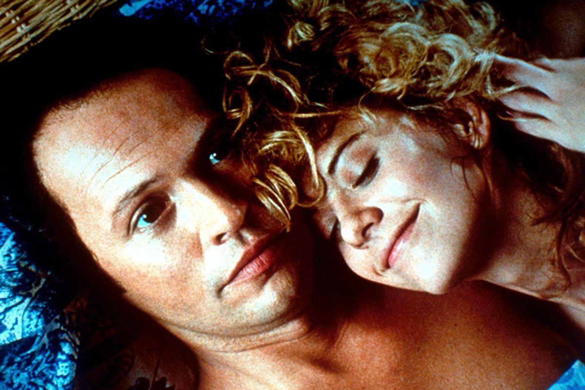"Billy Crystal and Meg Ryan in ""When Harry Met Sally"""