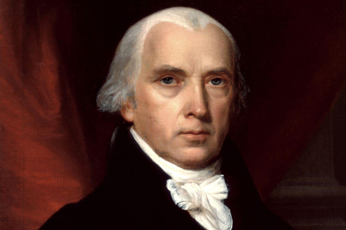 """Portrait of James Madison"" by John Vanderlyn  (The White House Historical Association)"