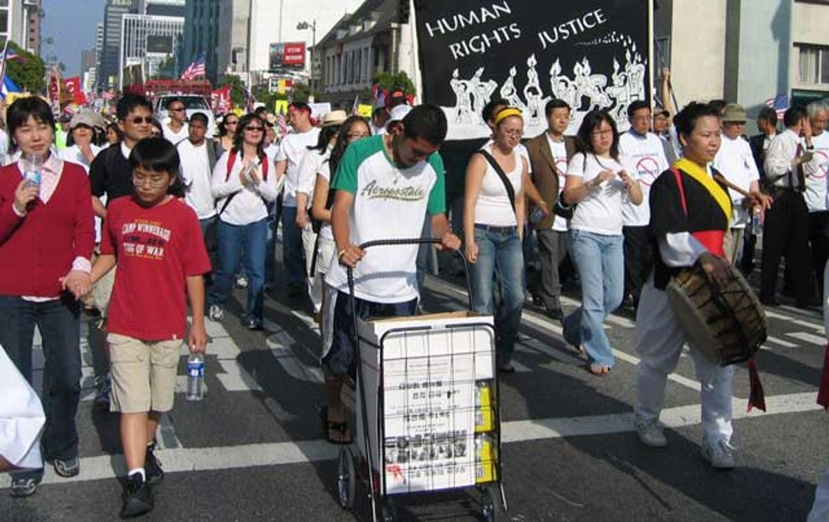 May Day Immigrant Rights March, Los Angeles Photo: Creative Commons/Korean Resource Center