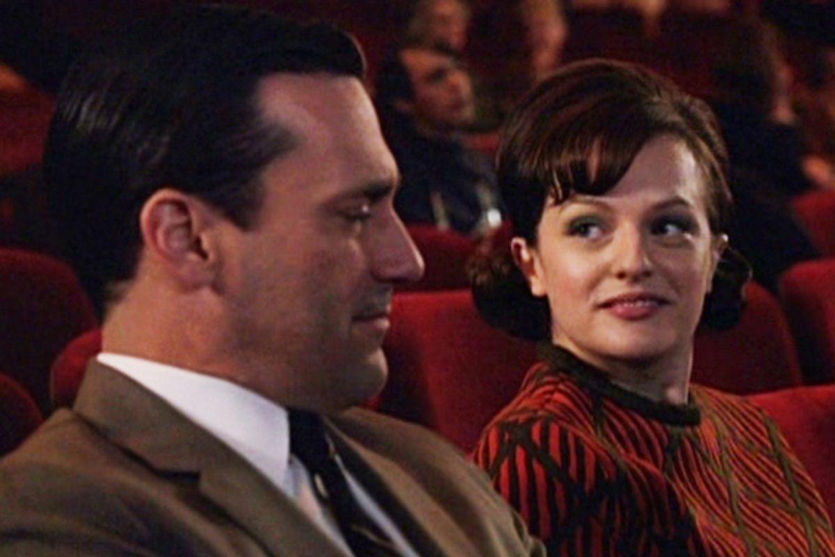 "Jon Hamm and Elisabeth Moss in ""Mad Men"""