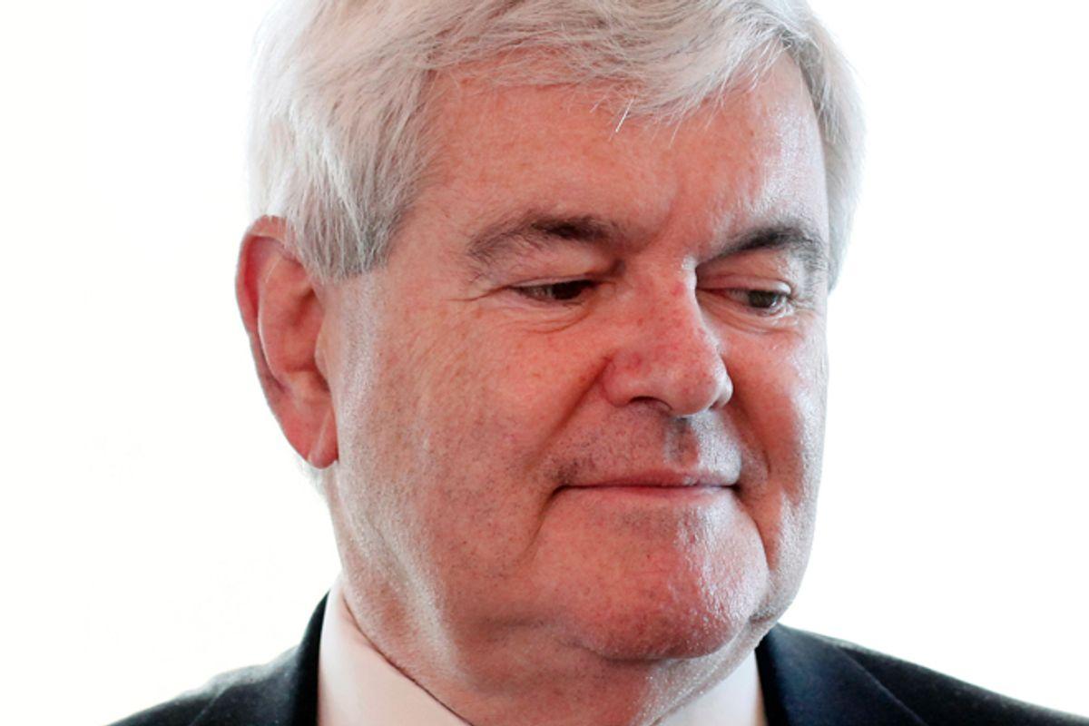Newt Gingrich  (AP/Patrick Semansky)