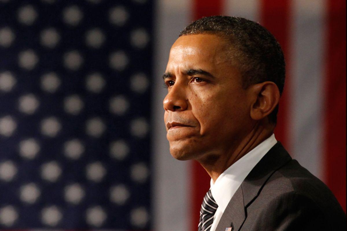President Obama       (Reuters/Kevin Lamarque)