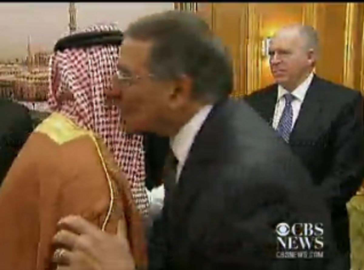 Defense Secretary Leon Panetta and U.S. terrorism adviser John Brennan in Jeddah, Saudi Arabia, June 21, 2012   (CBS News video)