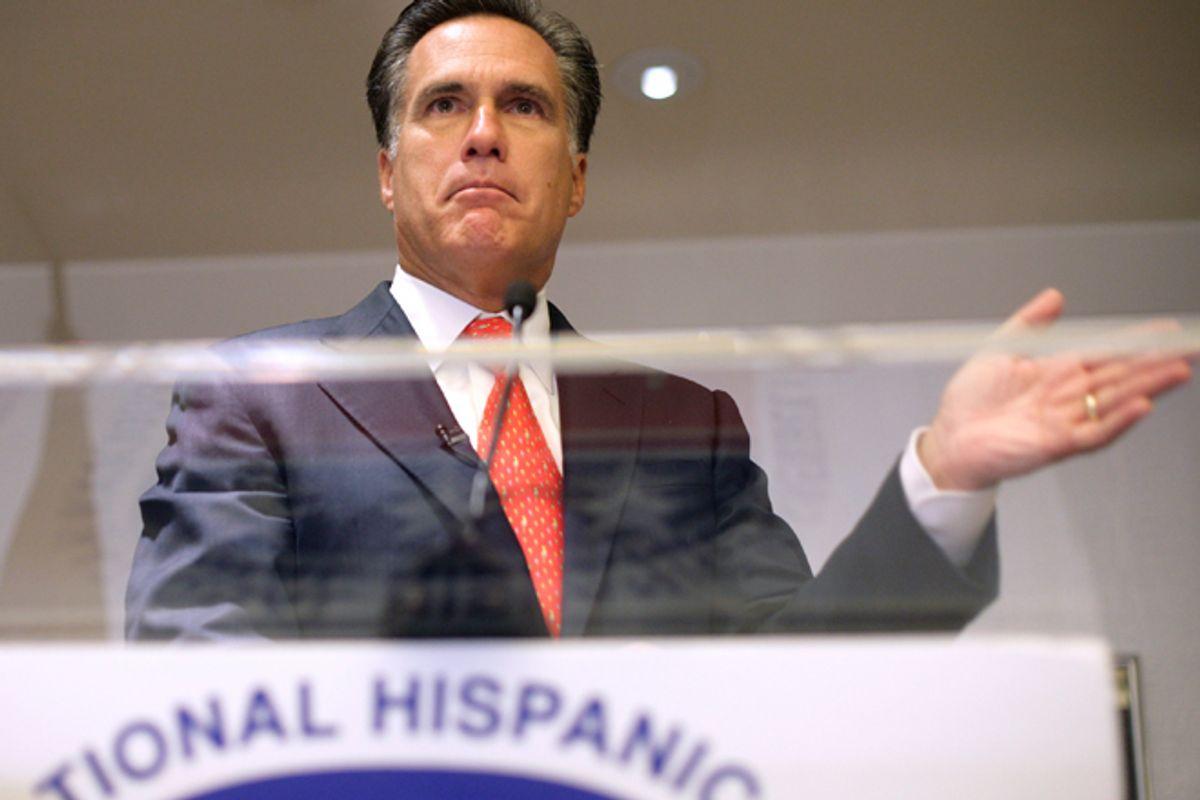 Mitt Romney  (Reuters/Yuri Gripas)