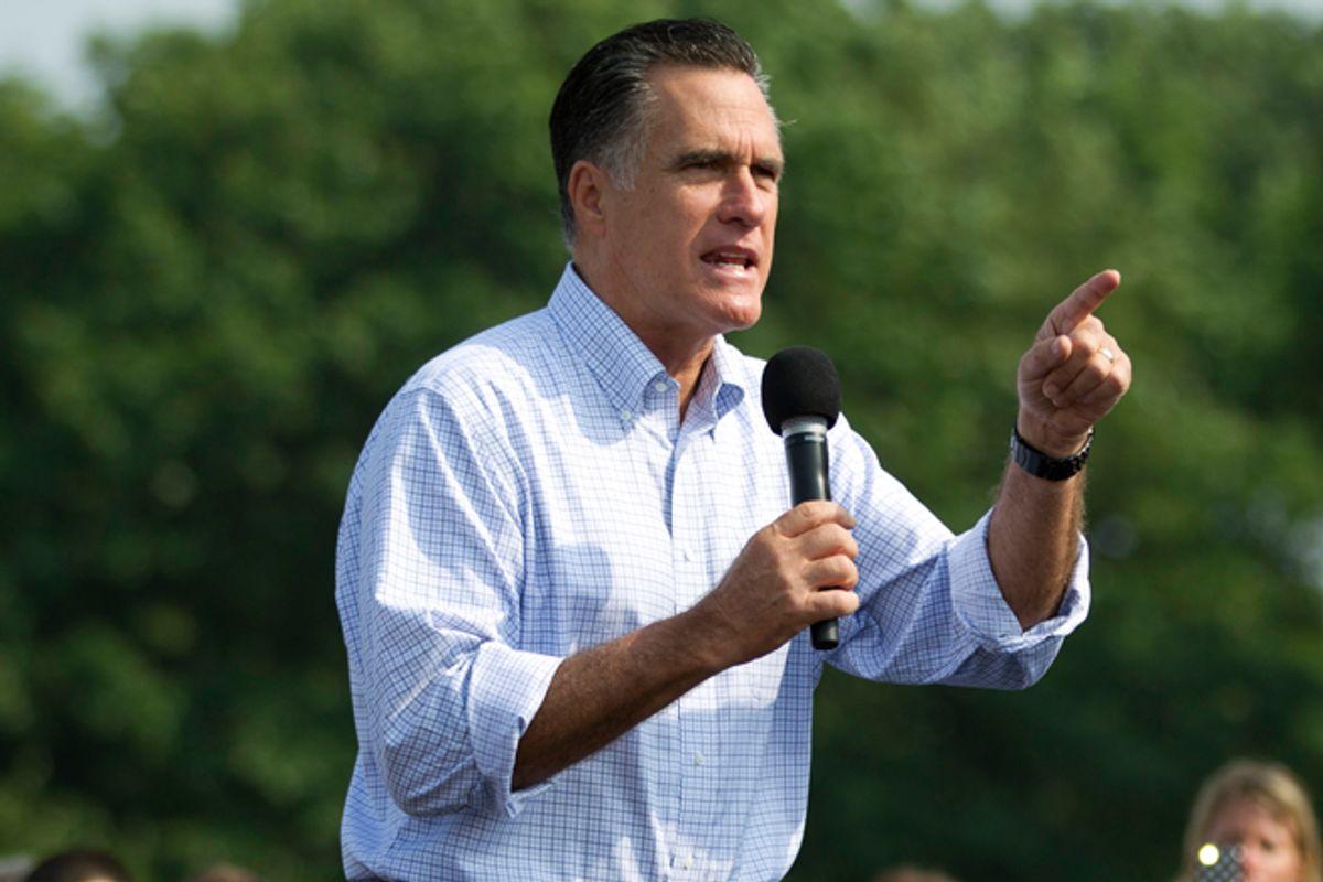 Mitt Romney  (AP/Evan Vucci)