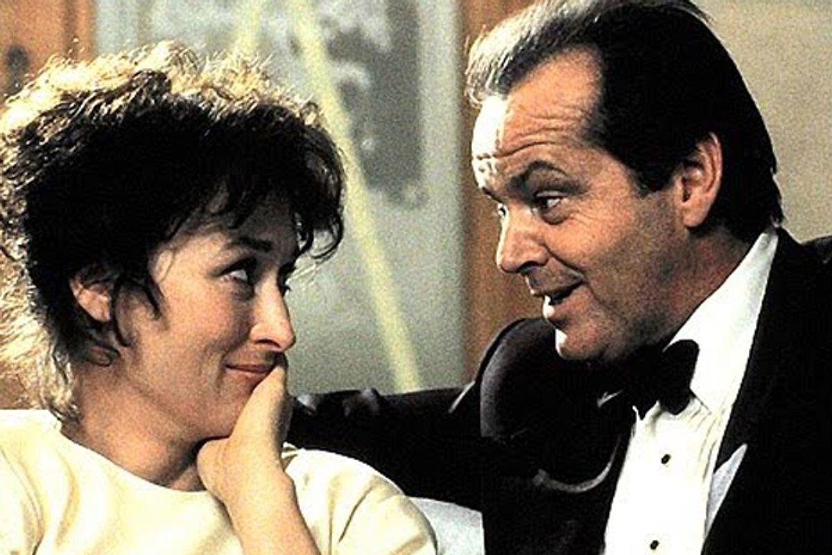 "Meryl Streep and Jack Nicholson in ""Heartburn"""
