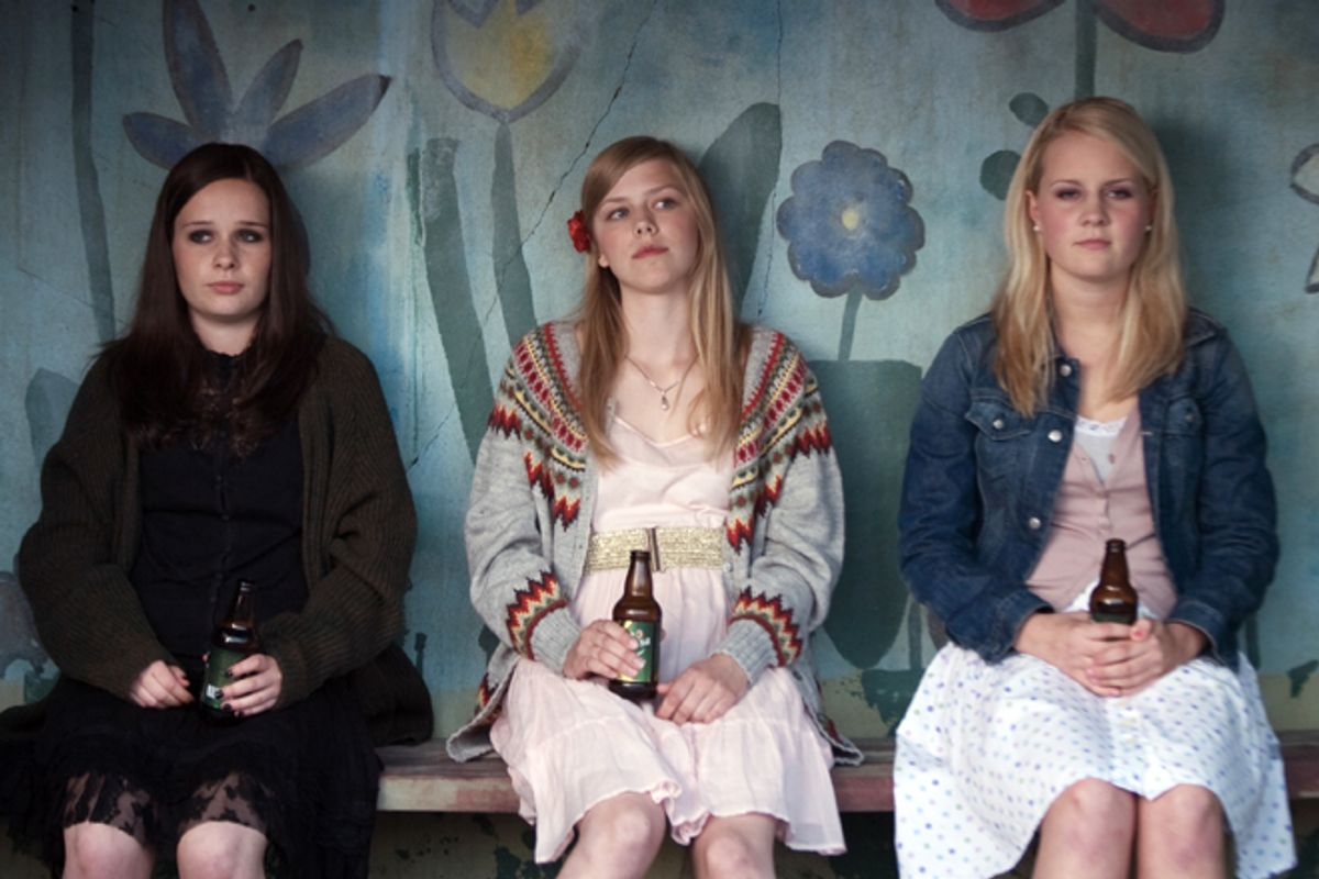 "Malin Bjorhovde, Helene Bergsholm and Henriette Steenstrup in ""Turn Me On, Dammit!"""