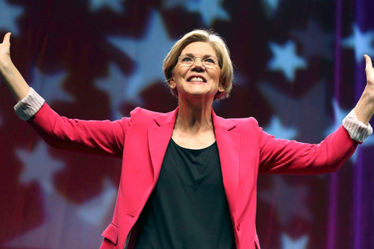 Elizabeth Warren     (AP/Michael Dwyer)