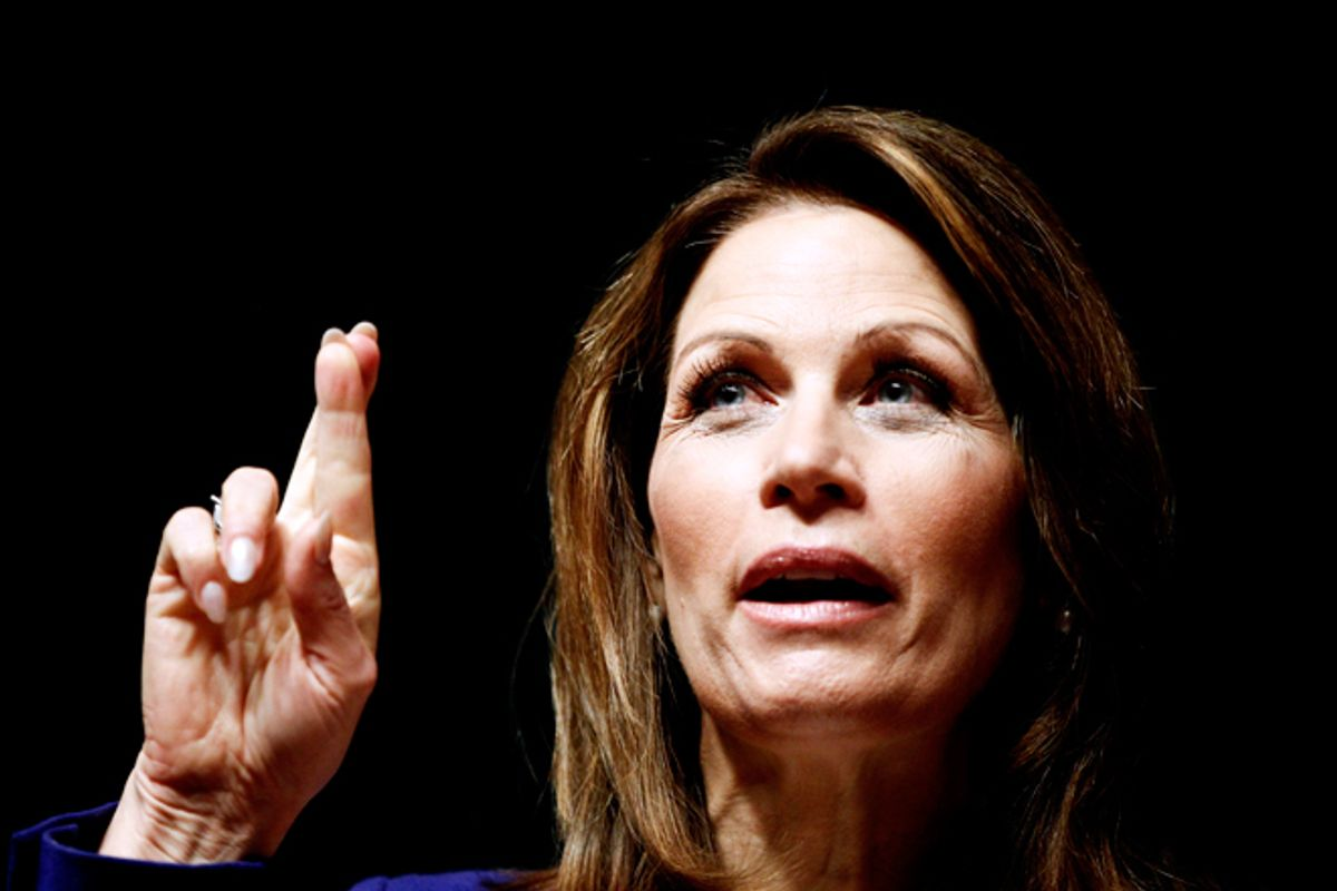 Bachmann defends her witch hunt