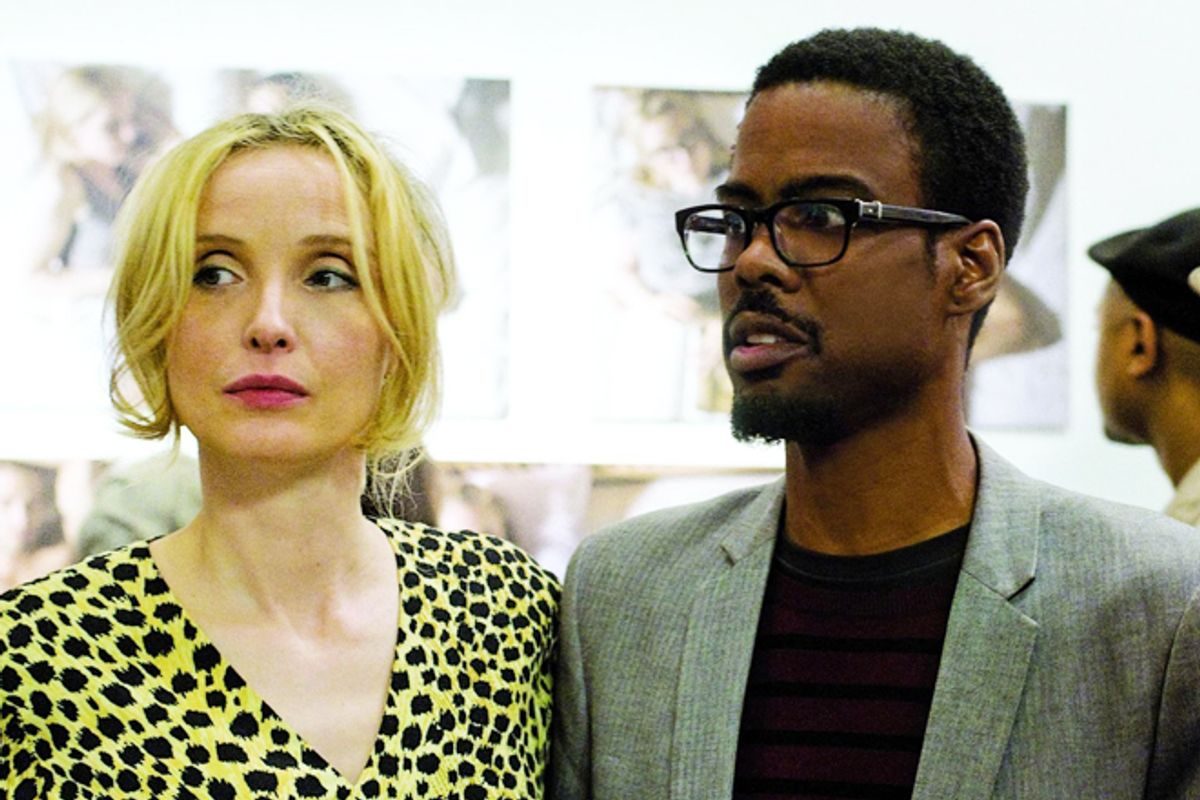 """Julie Delpy and Chris Rock in """"2 Days in New York"""""""