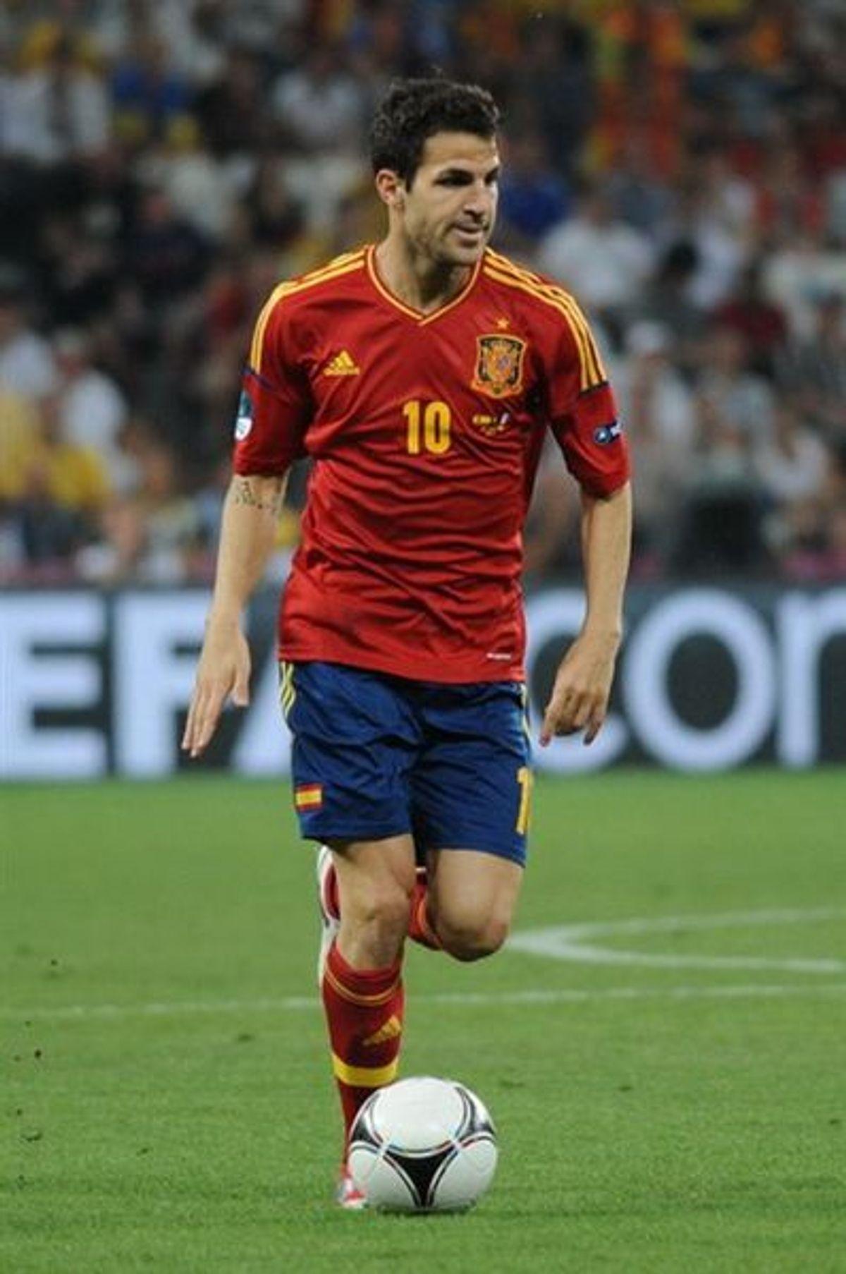 Cesc Fàbregas (Wikipedia/Football.ua)