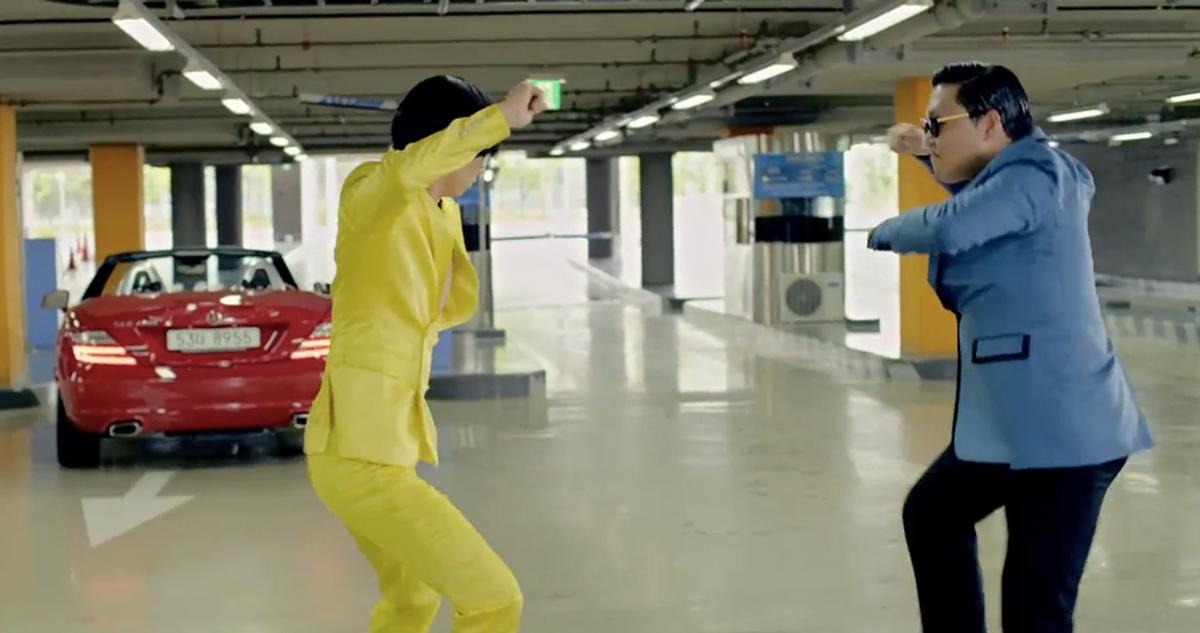 (Gangnam Style Music Video)
