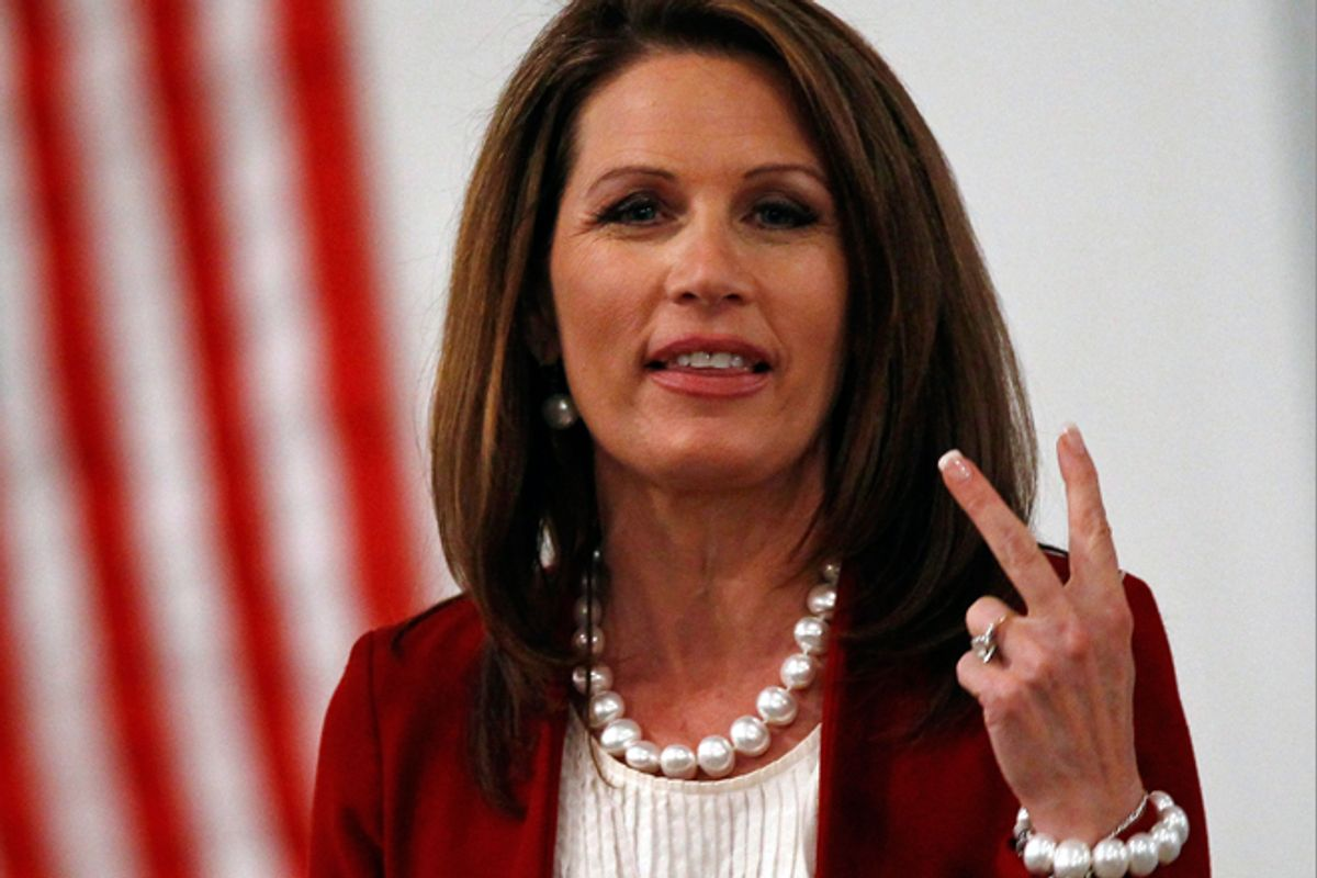Michele Bachmann   (Reuters/Jim Young)