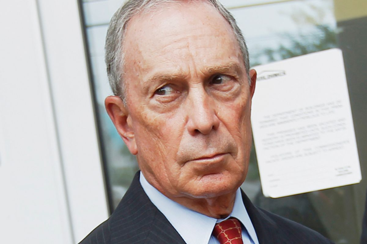 Michael Bloomberg     (Reuters/Shannon Stapleton)