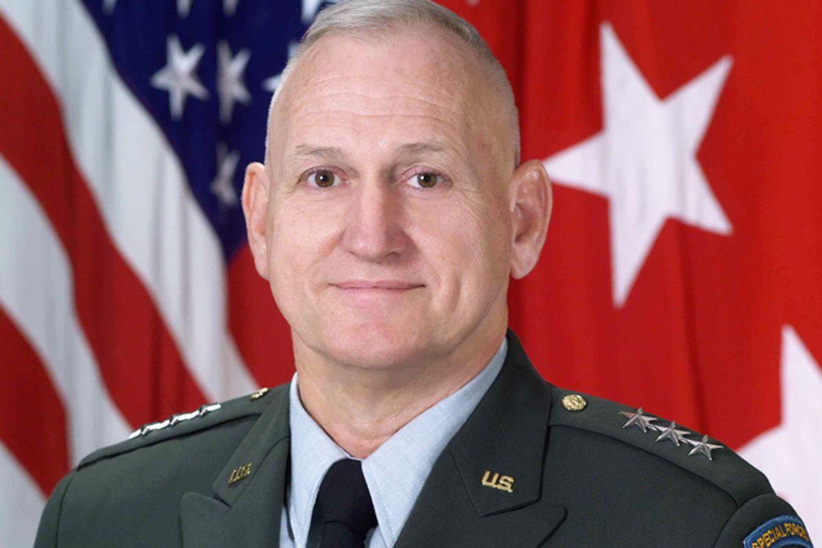 Lieutenant General William G. Boykin        (U.S. Army)