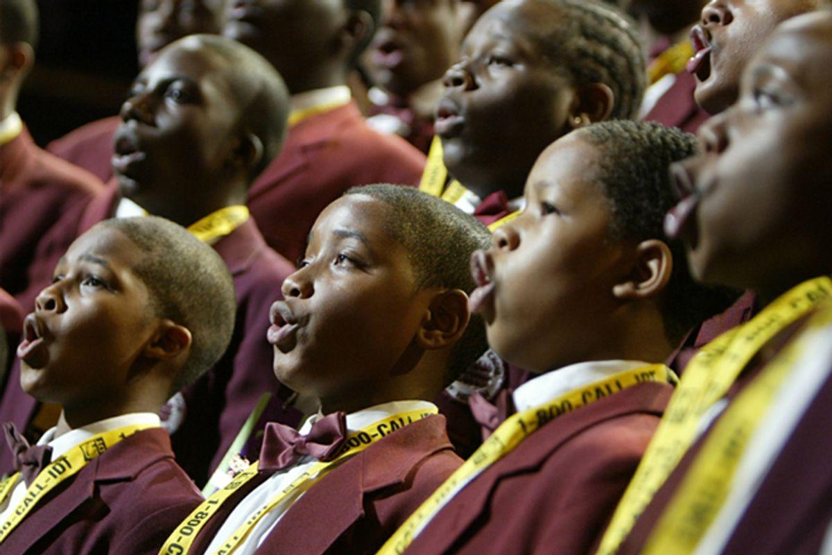 The Boys Choir of Harlem   (AP/Charles Dharapak)