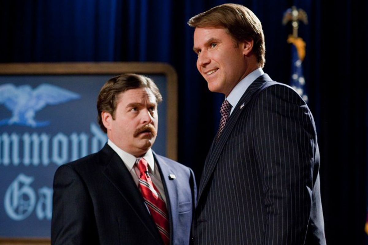 """Zach Galifianakis and Will Ferrell in """"The Campaign"""""""
