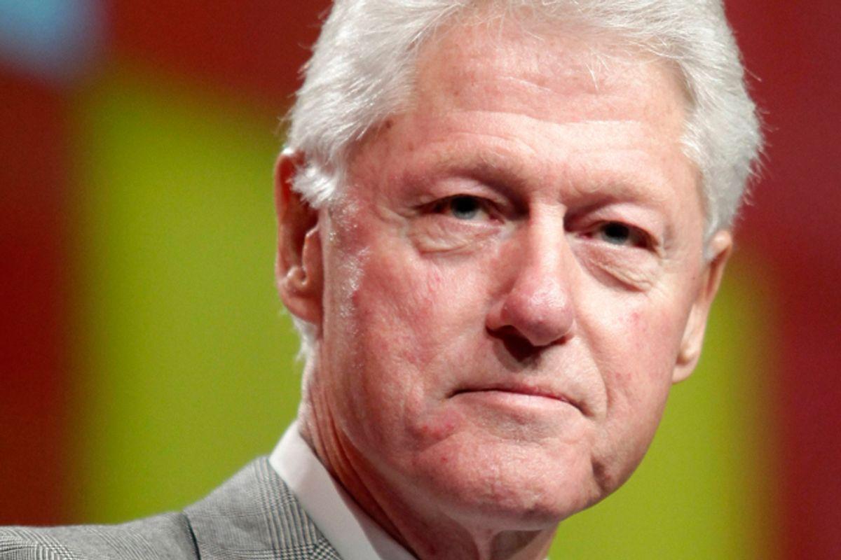 Bill Clinton     (Reuters/Kena Betancur)