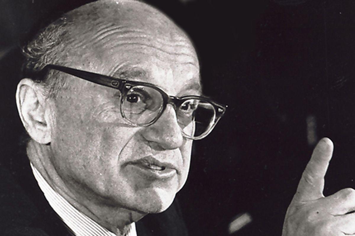 Milton Friedman           (AP)