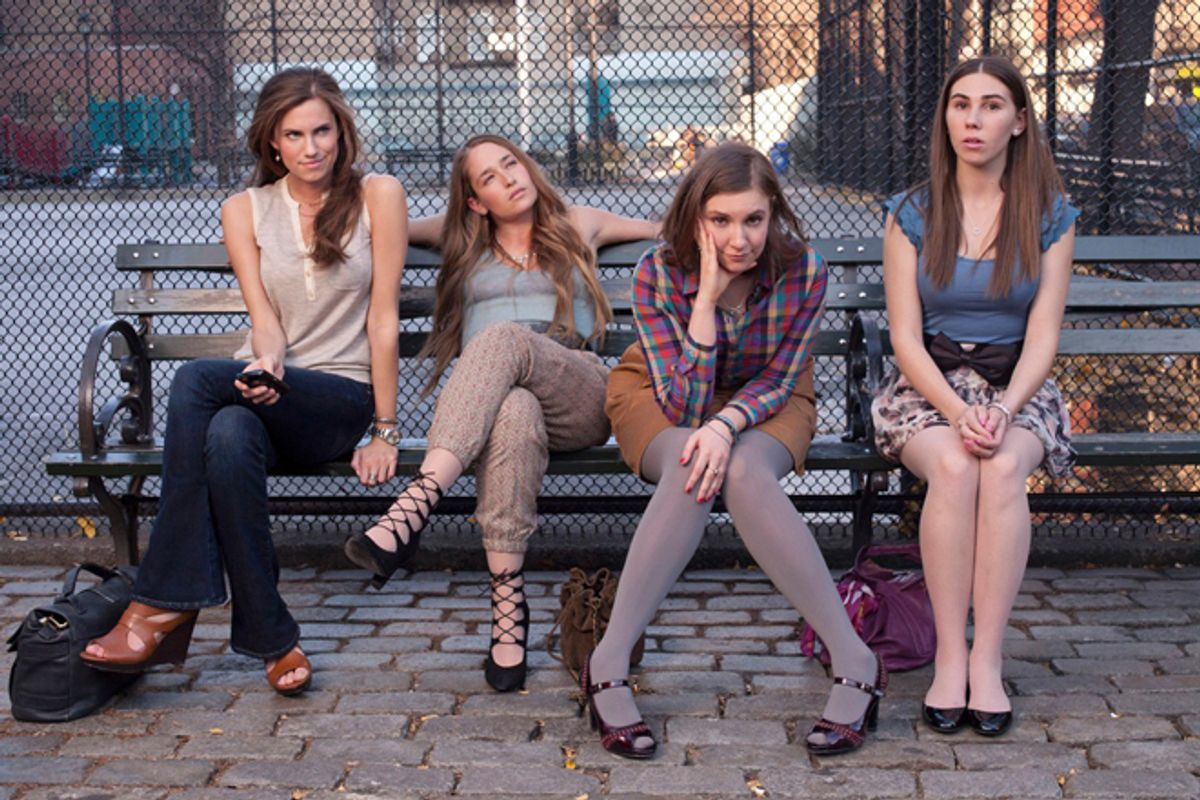 """The cast of """"Girls"""""""