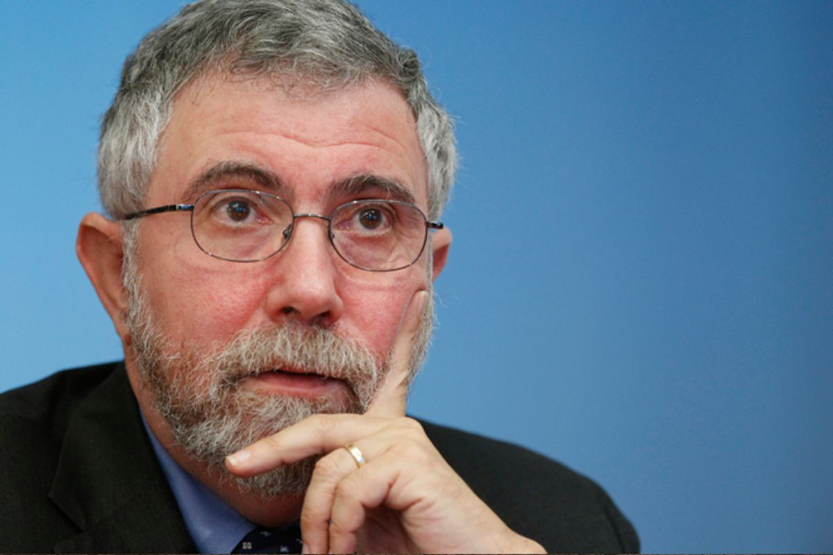 Paul Krugman            (Reuters/Brendan McDermid)